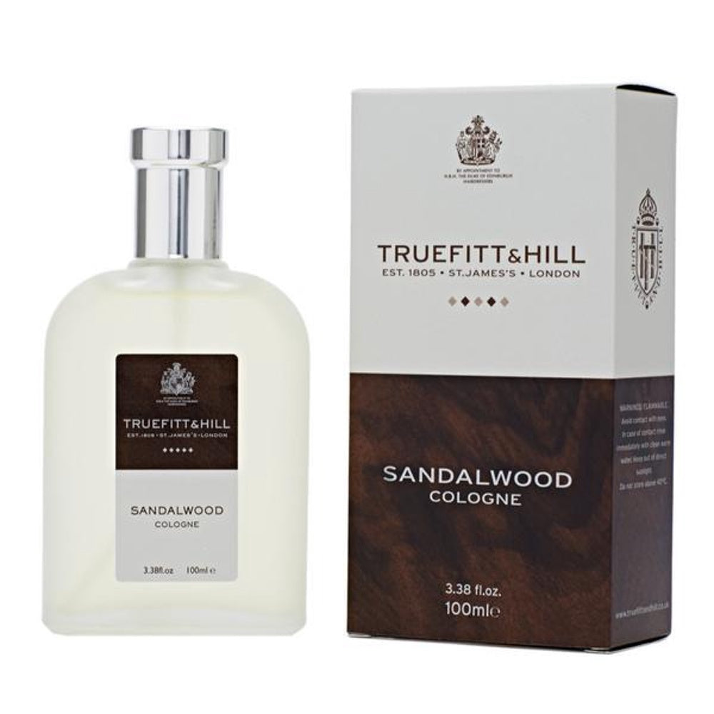 TRUEFITT 100ML SANDALWOOD COLOGNE