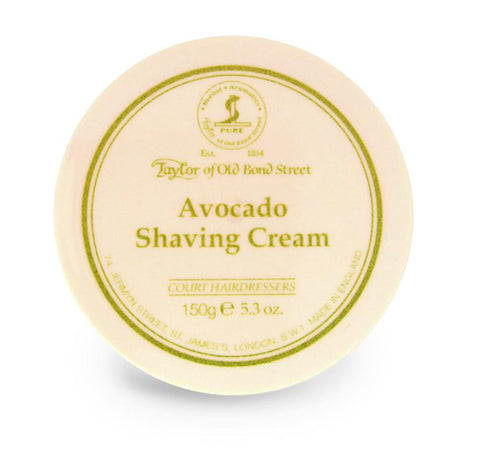 Taylor Shaving Cream 150g Bowl Avocado
