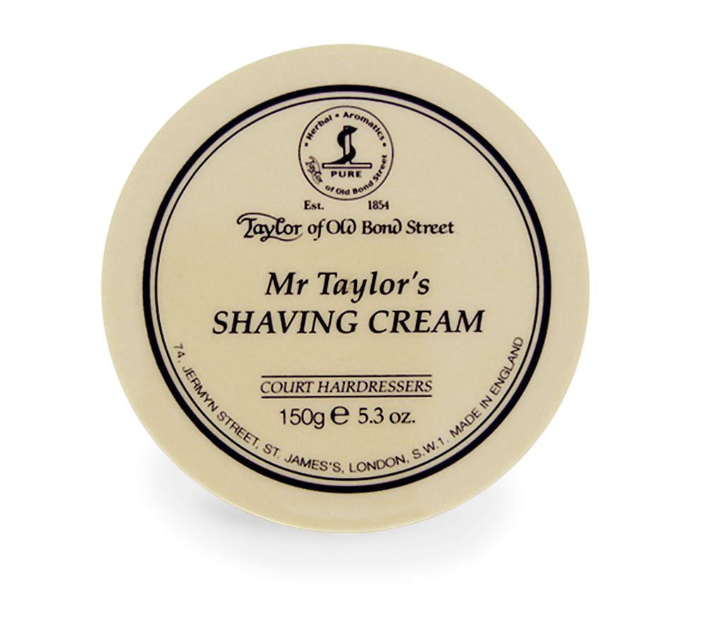 Taylor Shaving Cream 150g Bowl Mr Taylor