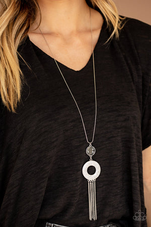Sassy As They Come Silver Necklace