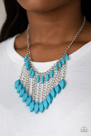 Venturous Vibes Blue Necklace