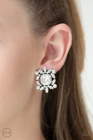 First-Rate Famous  White Clip-On Earring