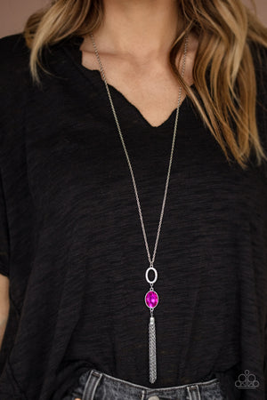 Unstoppable Glamour Pink Necklace