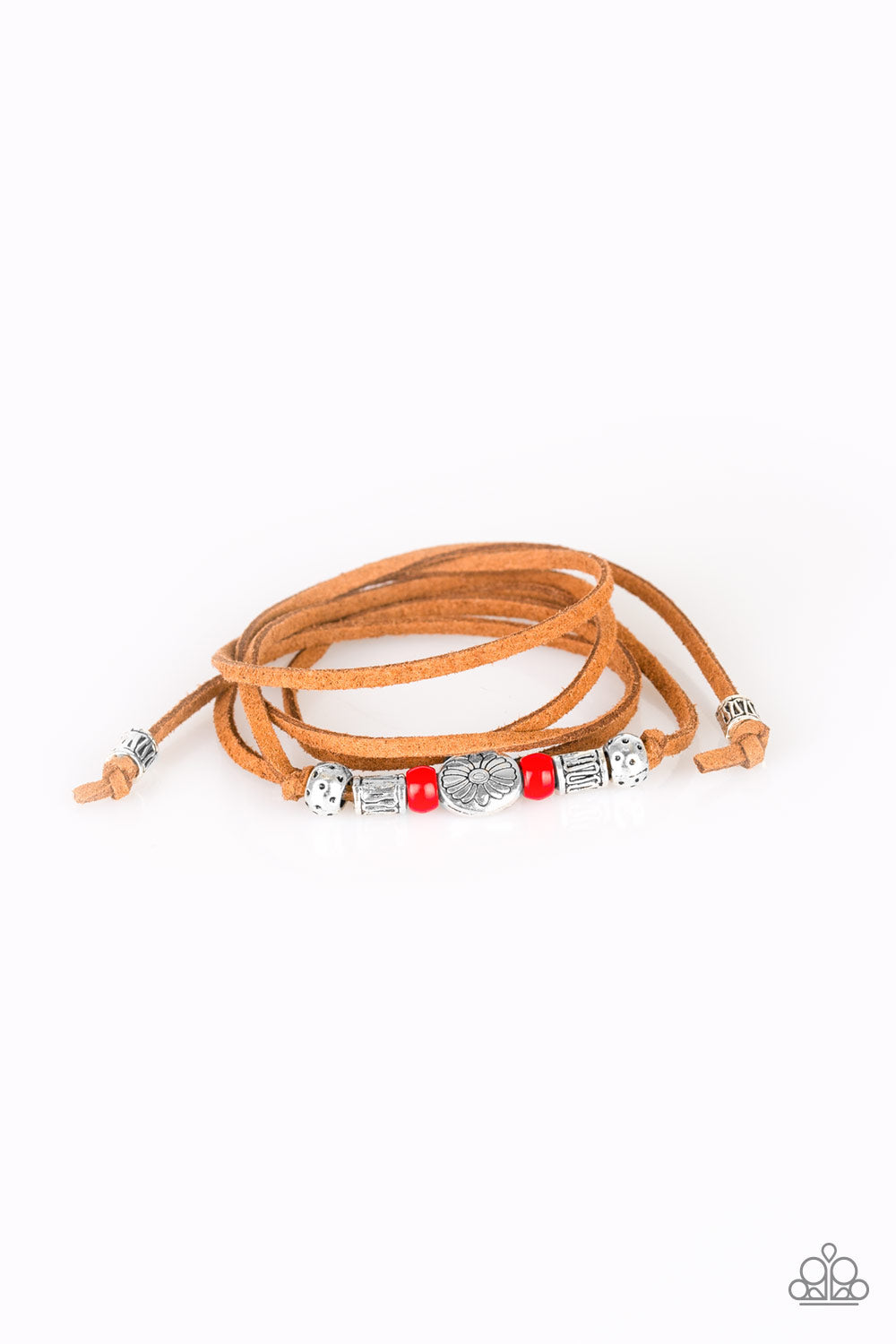 Clear A Path Red Urban Bracelet