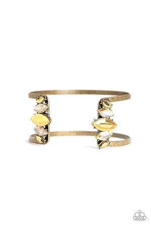 Glam Power Brass Bracelet
