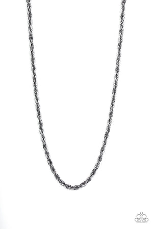 Instant Reply Black Urban Necklace