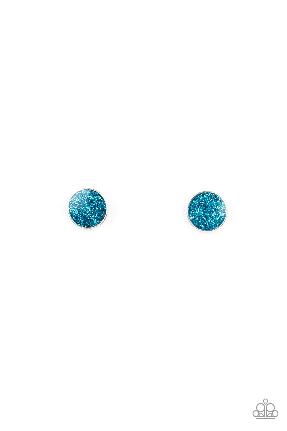 Starlet Shimmer Glitter Round Earrings