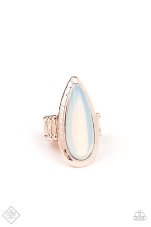 Opal Oasis Rose Gold Ring