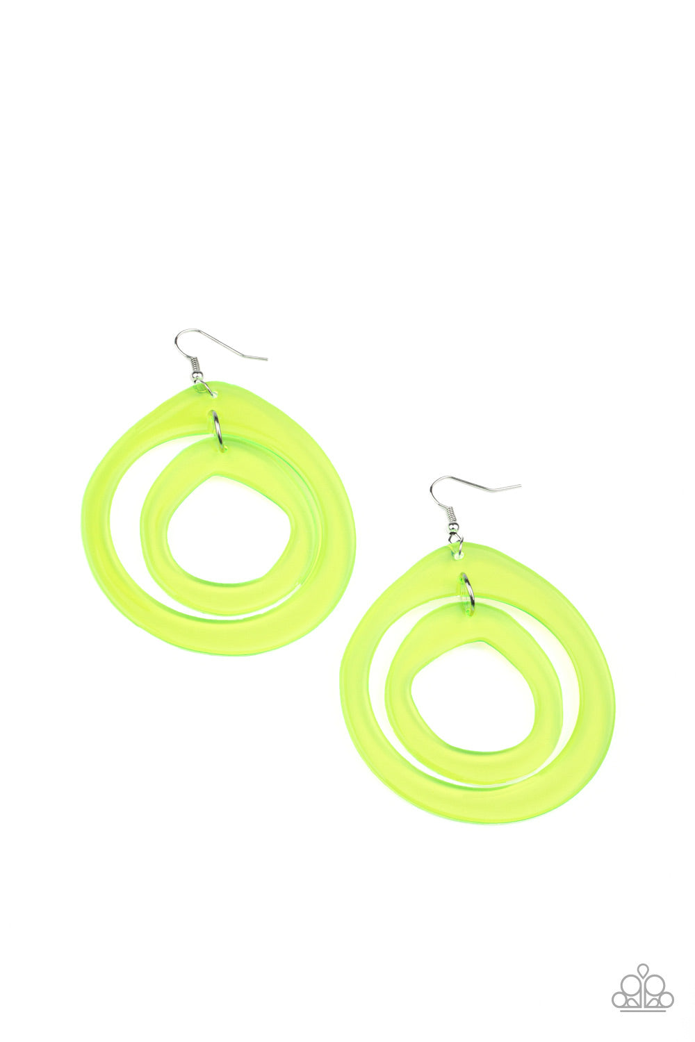 Show Your True NEONS Yellow Earring
