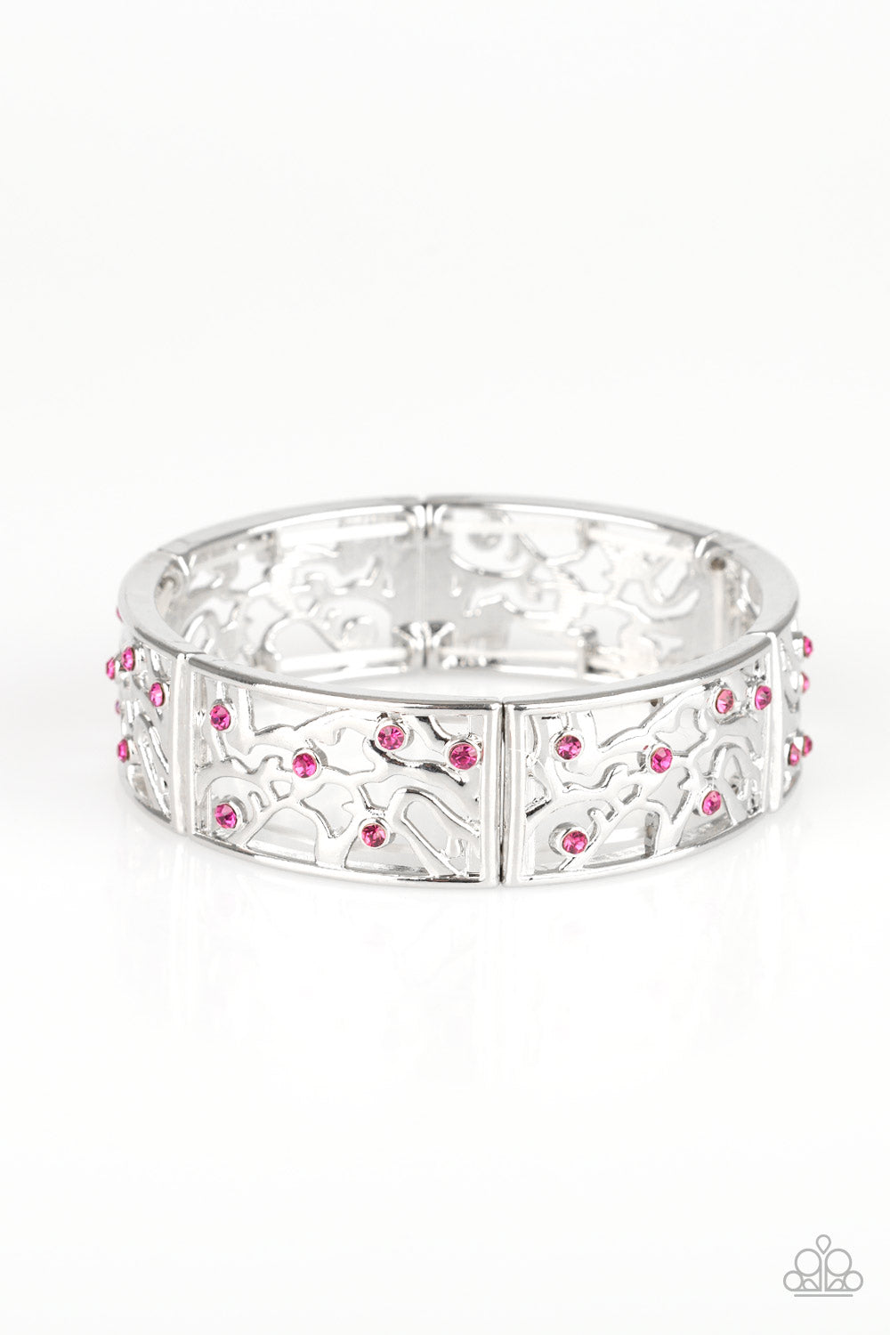 Yours and VINE Pink Bracelet