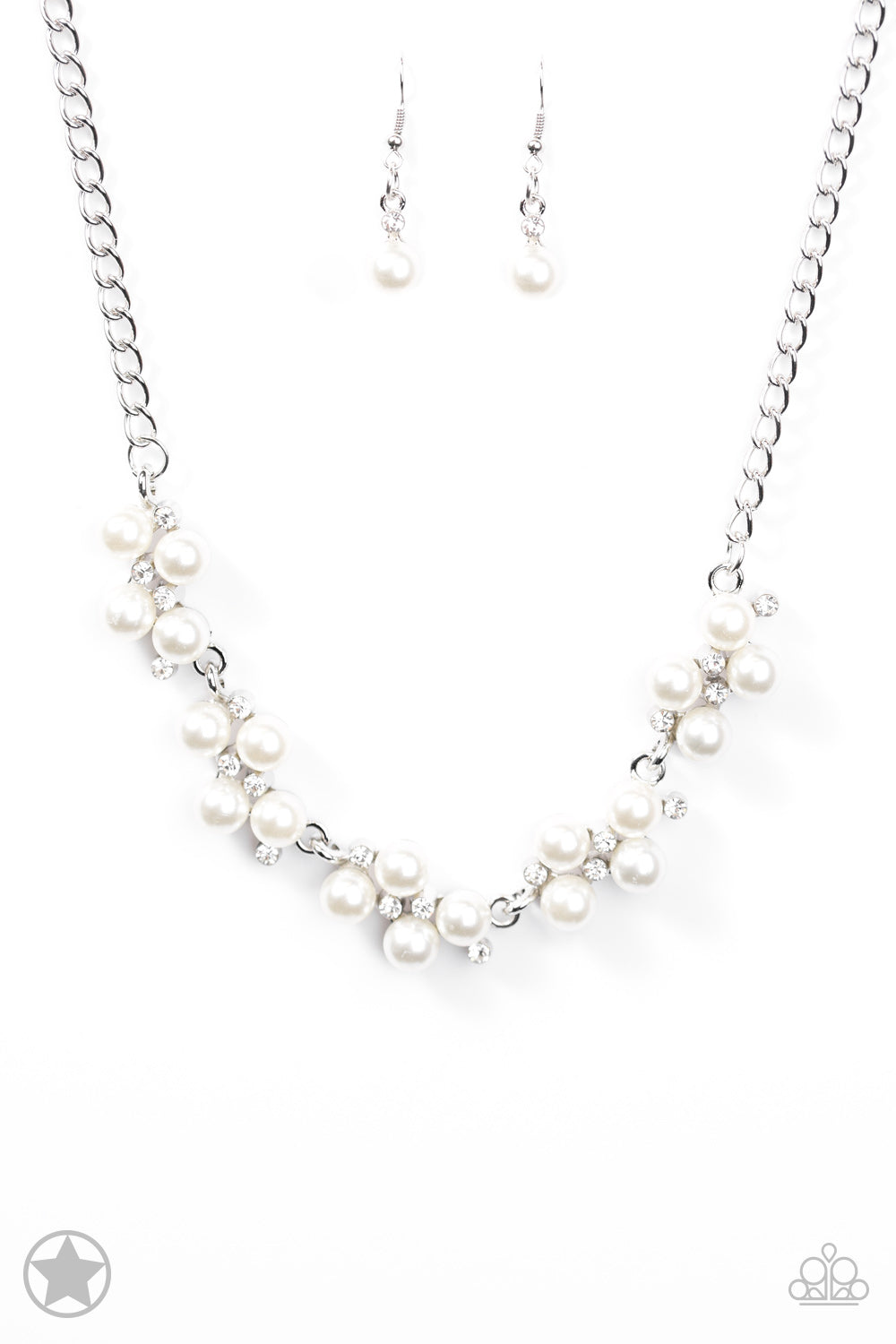 Love Story White Necklace