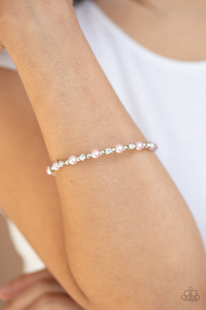 Decadently Dainty Pink Bracelet
