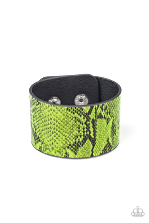 It's a Jungle Out There Green Urban Bracelet