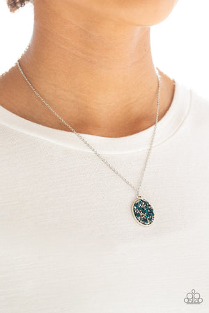 Star-Crossed Stargazer Blue Necklace