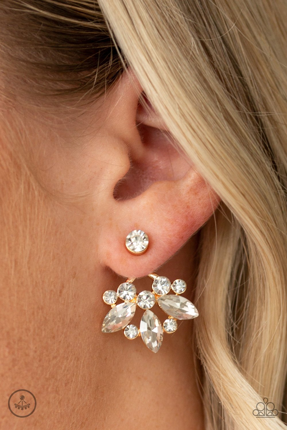 Crystal Constellations Post Earring