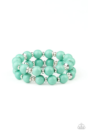 Bubble Blast Off Green Bracelet