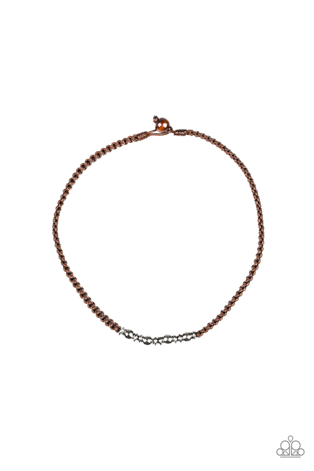 Metal Mechanics Brown Urban Necklace