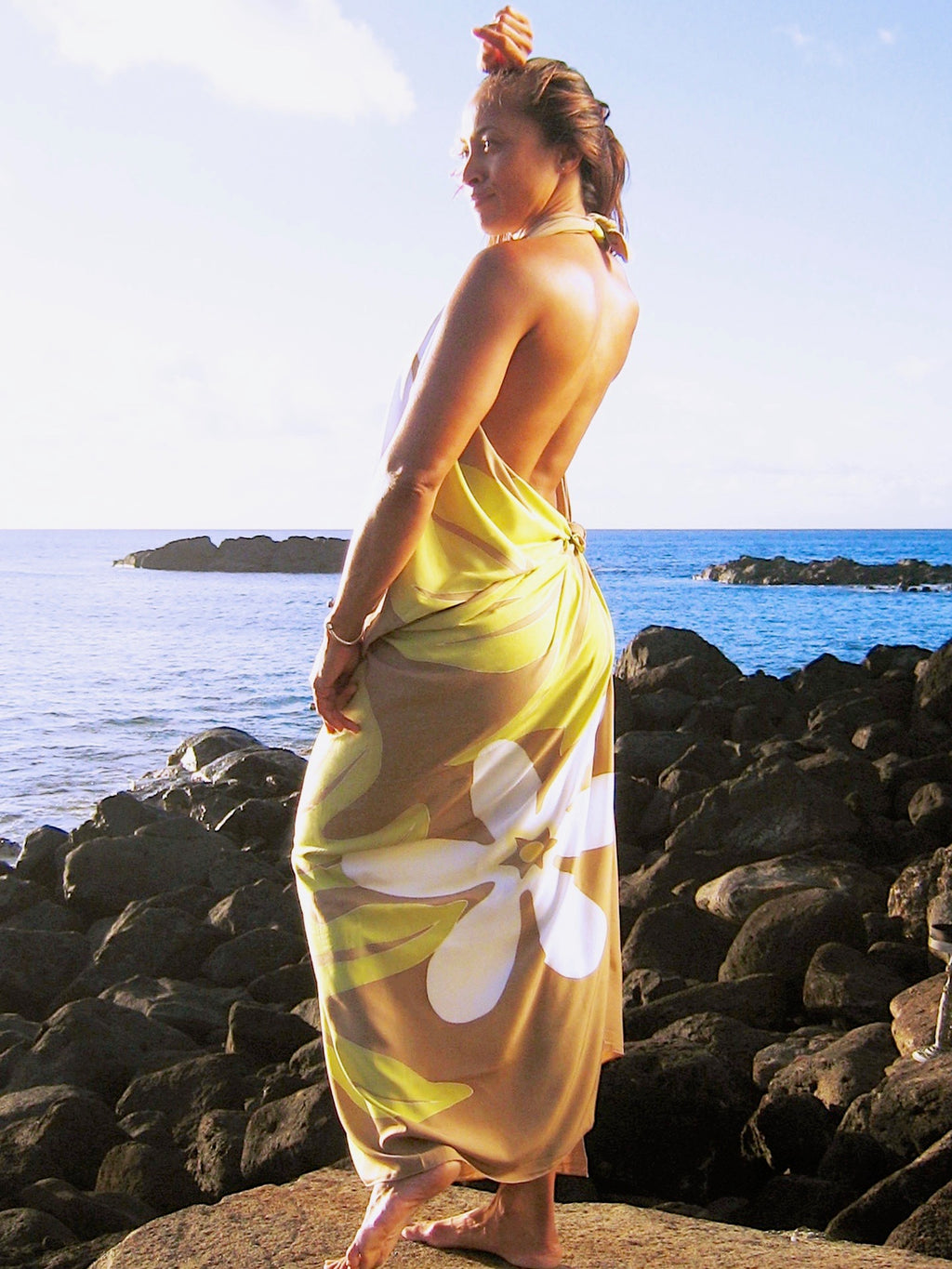 TIARE PAREO, TIARE, LATTE, BEACH PAREO, BEACH SARONG, HAWAIIAN PAREO, MAUI PAREO, HAWAII PAREO, HAWAII SARONG, ALOHA GIFT, TIARE GIFT, HULA, TAHITIAN, HULA DANDE, HULA COSTUME, TAHITIAN COSTUME