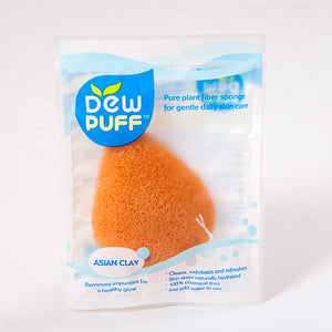 Dew Puff Asian Clay Konjac Sponge