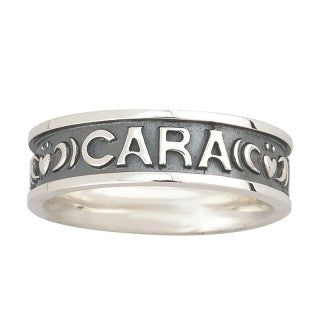 "Sterling Silver "" Mo Anam Cara"" Ladies Ring Emerald Isle Jewelry."