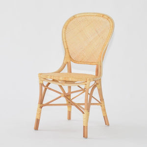 Cassis chair in cane wood and rattan