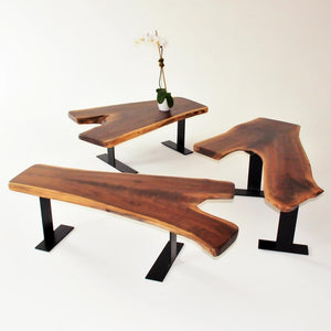 walnut wood coffee tables