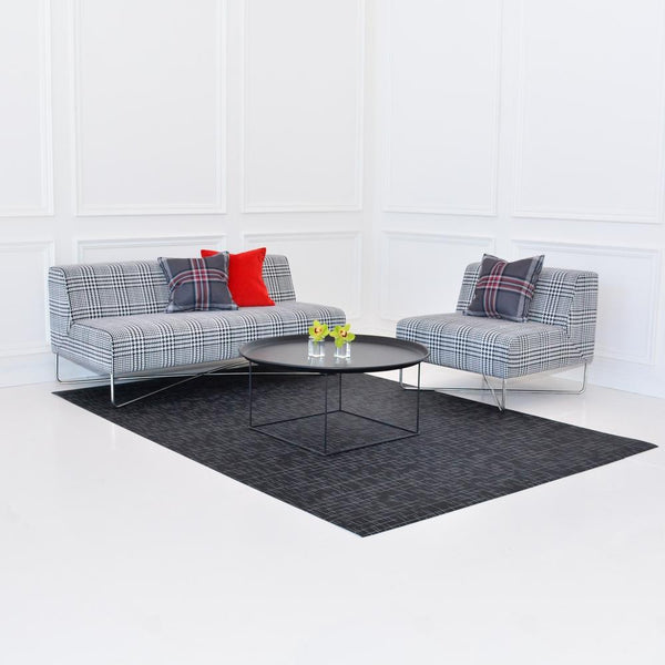 Balance Sofa and Chair in Plaid