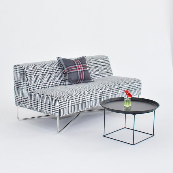 Balance Sofa Plaid with pillow and table