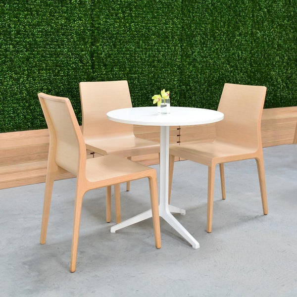 cafe table with 3 chairs