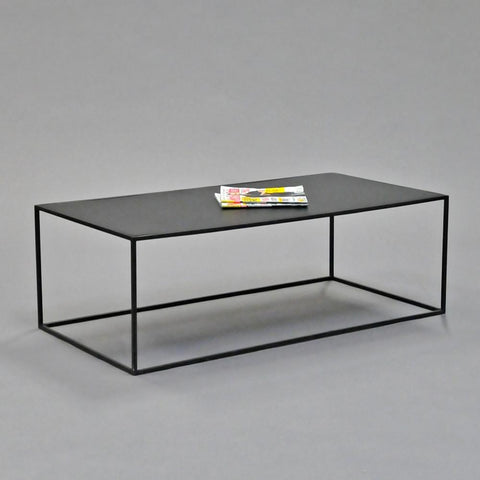 calvin coffee table rectangle black
