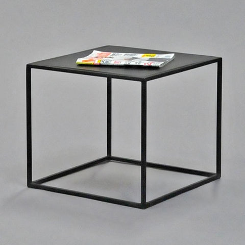 calvin side table square black