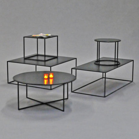 calvin table collection black