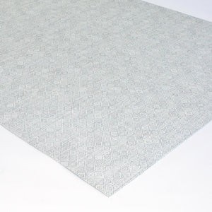 chilewich mosaic gray floor mat