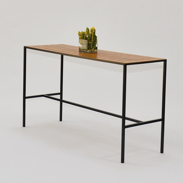 Coast Runner Table with black frame solo view
