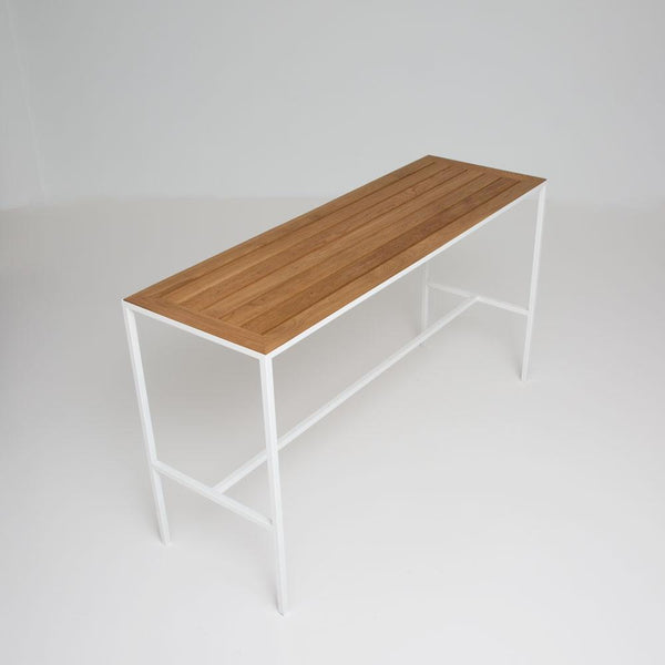 Coast Runner Table with white frame overview