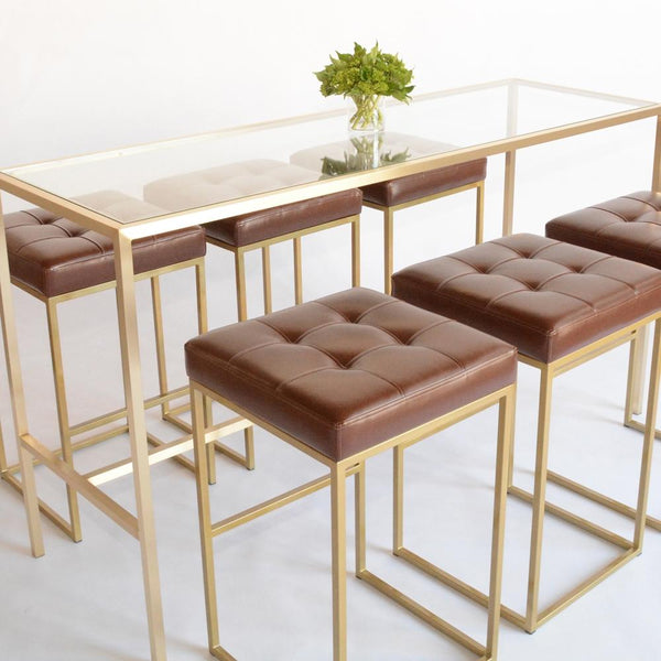 cole barstools with communal table