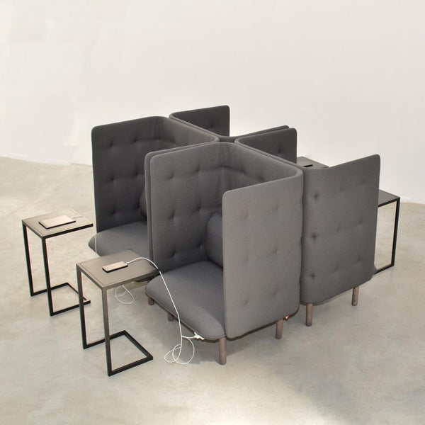 cove lounge chairs with cove side tables