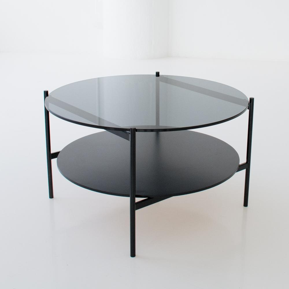 edition coffee table black