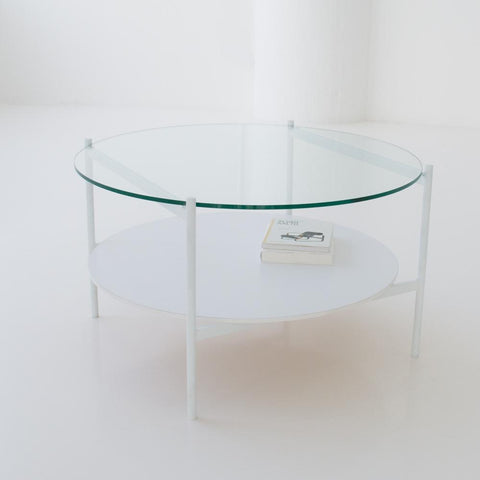 edition coffee table white