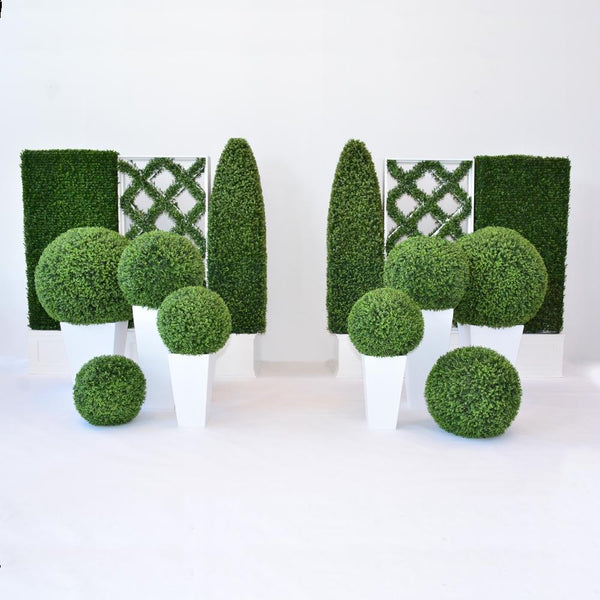 faux hedges grouping