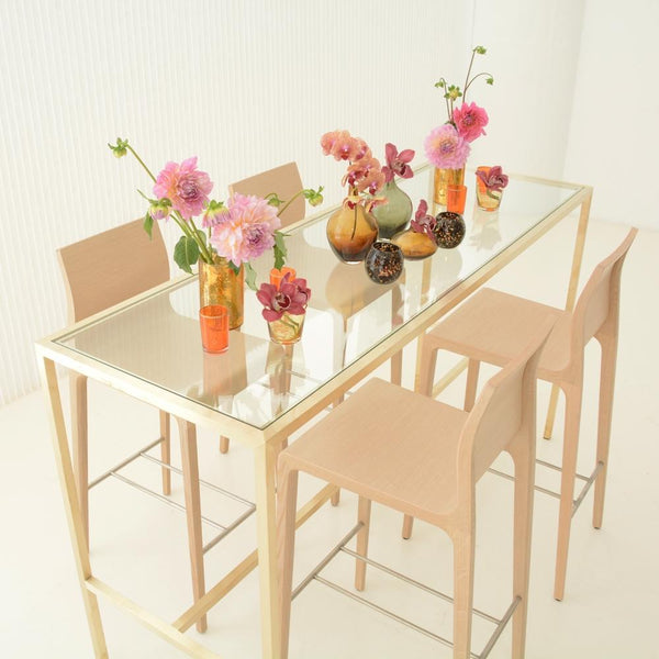 Maxwell Runner table with 4 stools