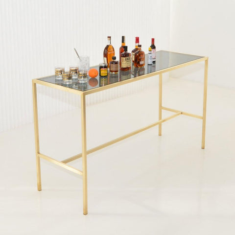 Maxwell Runner table as bar top