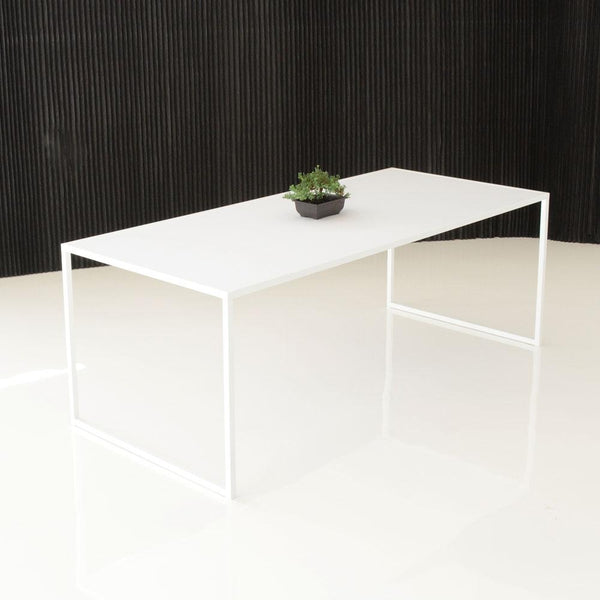 pawson table with decorative plant
