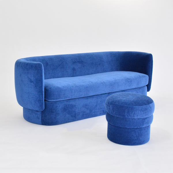 sigrid stool and soren sofa