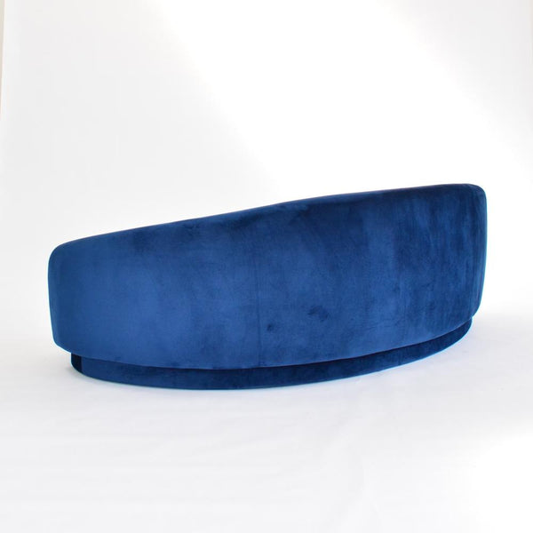 rear view of Slope Sofa Navy