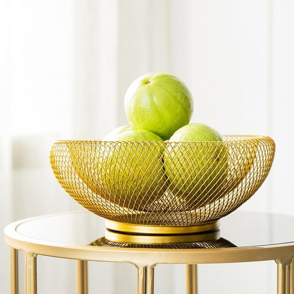 The Sonia Gold Fruit Bowl