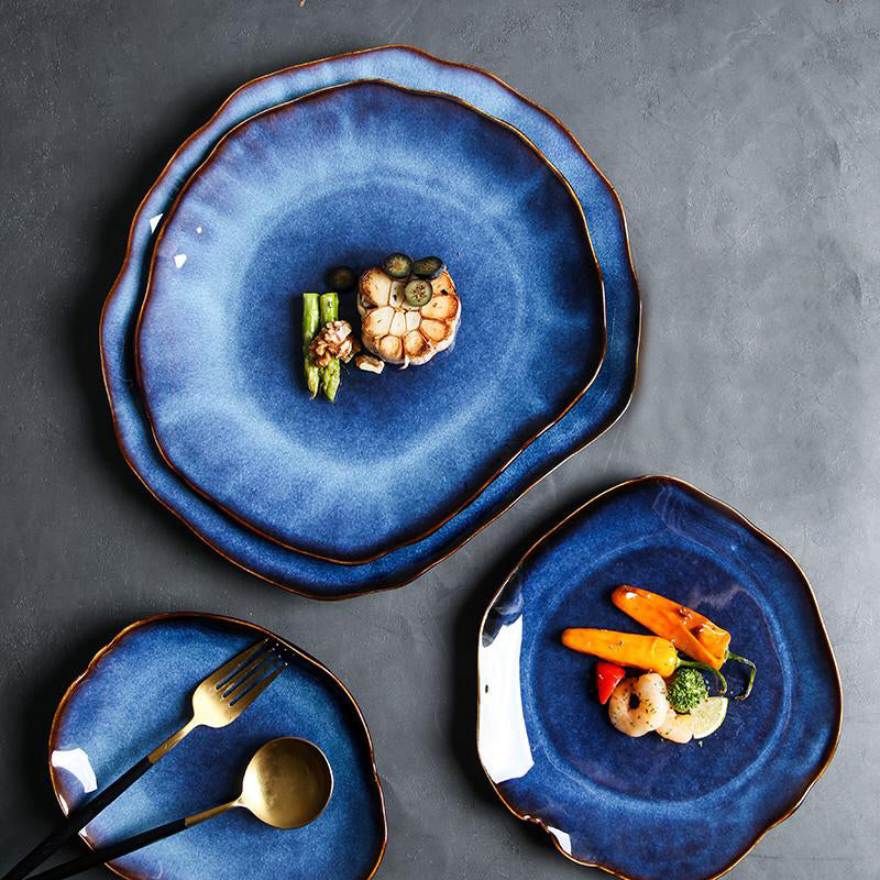 The Pearl Glazed Plate Collection
