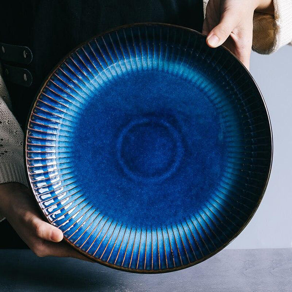 The Rex Deep Glazed Dinner Plate