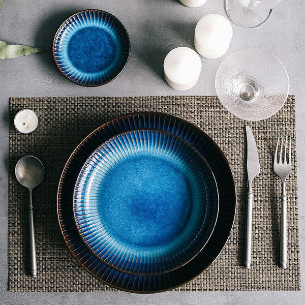 The Rex Deep Glazed Plate Collection