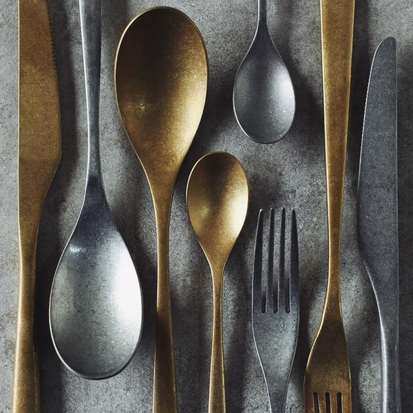 The Gatsby Stainless Steel Flatware Set